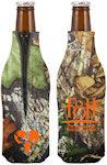 Mossy Oak TM Zipper Bottle Insulator